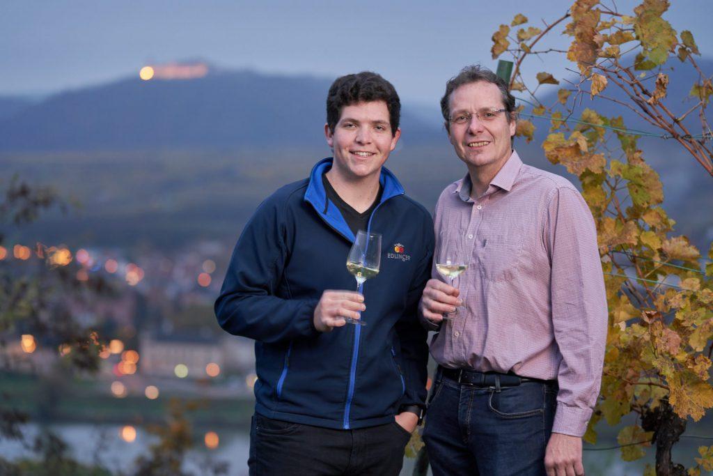 Erfahrung macht sich bezahlt: Paul und Josef Edlinger.