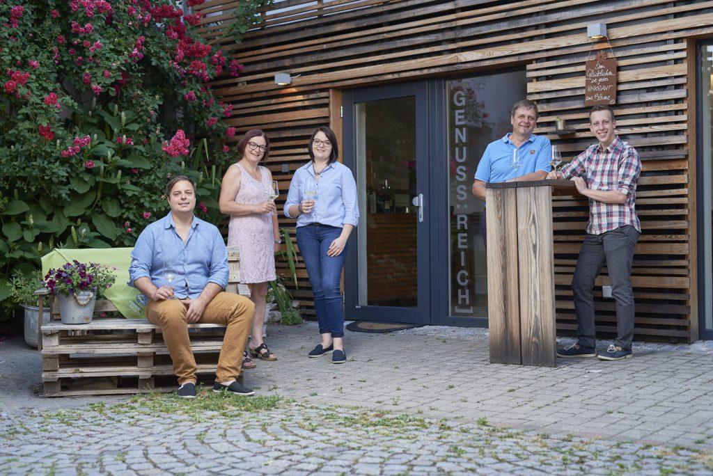 Seit Generationen ist der Winzerhof Holzheu ein Familienbetrieb.