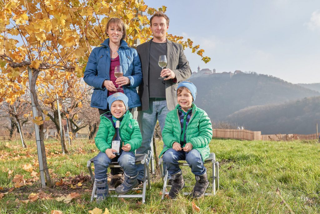 Beim Wein geht die Familie Ramoser keine Kompromisse ein.