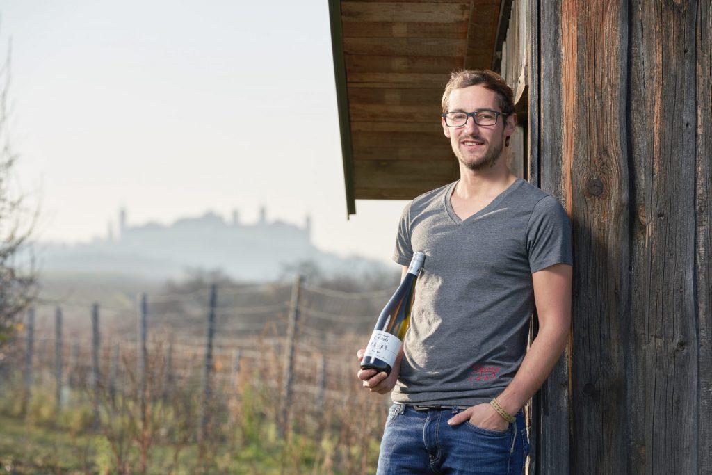 Wolfgang Fink ist stolz auf seine Weißweine.